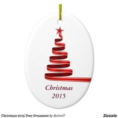 Christmas 2015 Tree Ornament