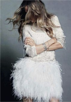 Sarah Jessica Parker-- I want to wear this to the Winter Wonderland Party!