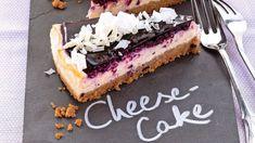Borůvkový cheesecake s bílou čokoládou