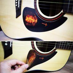 Acoustic Guitar Pickguard Basic God A