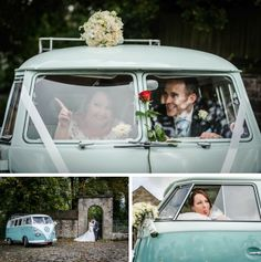 Pixies in the Cellar: Cool VW Camper wedding in Yorkshire! with liberty campers and Dylan!