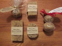 Soap and other homemade gifts