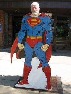 """Doug Peterson's """"History by the Slice"""" column today is about #Superman, Samson, and #Jesus. A great story (and fun activity) to share with your #family! This would also be great for #teachers and #homeschool families. #history"""