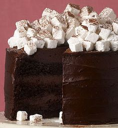 "Hot Chocolate Cake - Can we say ""Heaven?"""