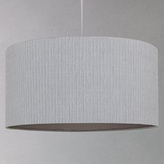 John Lewis Easy-to-fit Renee Fusion Ceiling Shade, Ivory | Navy ...