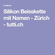 Silikon Beisskette mit Namen - Zürich - tutti.ch Baby Kind, Baby Gifts, Cool Photos, Sweet, Names, Candy, Gifts For Kids, Baby Presents