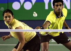 India's badminton campaign in the Olympics was off to a disappointing start as the mixed doubles pair of Jwala Gutta and V Diju went down in straight games to Indonesia's Tontowi Ahmad and Liliyana Natsir in their opening group match.