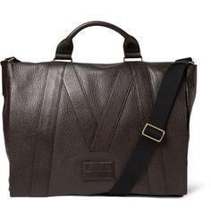Marc by Marc JacobsTextured-Leather Messenger Bag MR PORTER