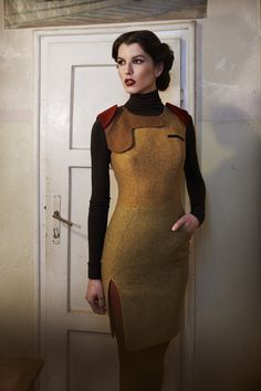 KNAPP The Post-war collection A/W 12/13 on Fashion Served | there is something very Star Trek about some of these looks. I love this collection!!