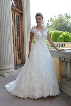 Wedding Dress VE8295 - Marilyn's Bridal