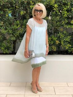 The Best Fashion Ideas For Women Over 60 - Fashion Trends Over 60 Fashion, Over 50 Womens Fashion, Fashion Over 50, Casual Dresses, Casual Outfits, Fashion Outfits, Summer Dresses, Fashion Tips, Fashion Trends