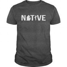 Native Michigander - #boyfriend tee #sweatshirt jeans. ORDER NOW  => https://www.sunfrog.com/States/Native-Michigander-Dark-Grey-Guys.html?id=60505