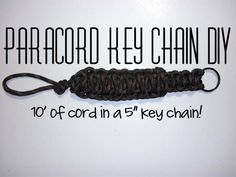 Paracord Key Chain DIY