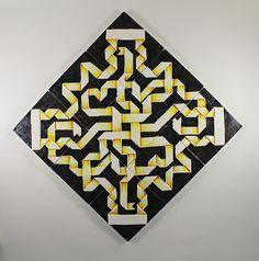 Handmade tiles-coasters by G. Agathos