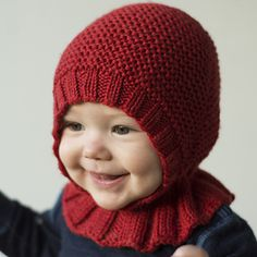 Ravelry: Baccalaolue pattern by Tina Hauglund Baby Hat Knitting Patterns Free, Baby Hats Knitting, Knitting Designs, Baby Patterns, Free Knitting, Knitting Projects, Knitted Hats, Crochet Patterns, Knitted Balaclava