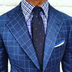 DAPPER in blue inspired by @elitesxfashion #DAPPERMEN