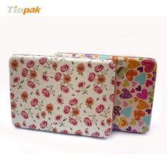 Every girl needs a pretty tin box where else would she hide her secrets. http://www.tinpak.us/product/