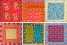 These are quilts...the colors are amazing!