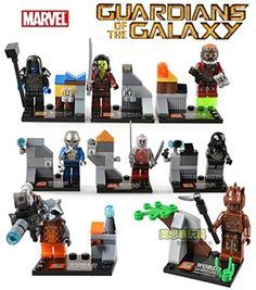 Guardians Of The Galaxy Star Lord Ronan Drax Marvel Building Blocks Bricks Sets Minifigure Toy Compatible With Lego Shiv http://www.amazon.com/dp/B00VARZP98/ref=cm_sw_r_pi_dp_gmGBvb04TE6AX