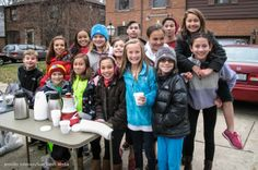 Hot cocoa fundraiser for the Philippines | www.fmscBlog.com