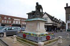 Bury St Edmunds - Boer War Memorial by Le Monde1, via Flickr