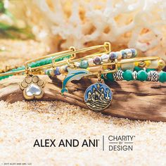Shop Alex and Ani's NEW Summer Collection here! Full of vibrant colors perfect for the upcoming season. #alexandani #summer #shopbarnes #shoplocal