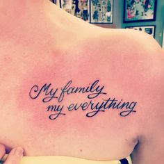 28 best Family tattoo quotes images on Pinterest in 2018   Tattoo ...