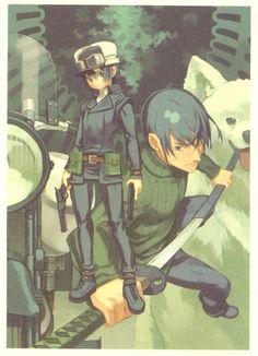 Kino's Journey  (Riku, Shizu, Kino, and Hermes)