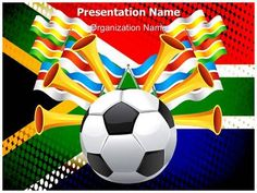 Brazil Football Flag Powerpoint Template Is One Of The Best