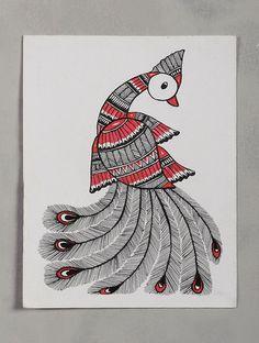 Kerala Mural Painting, Madhubani Painting, Indian Art Paintings, Abstract Paintings, Doodle Art Drawing, Mandala Drawing, Art Drawings, Ballet Drawings, Peacock Drawing