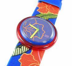 Vintage Swatch Watch Pop Wrist 1993