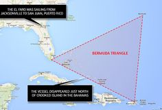 The vessel disappeared just north of Crooked Island in the Bahamas, inside the Bermuda Tri...