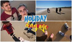 ☀️ SAND, SUN & SEA ☀️      HOLIDAY VLOG :  DAY 1