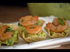 Shrimp Guacamole Appetizer - Hispanic Kitchen