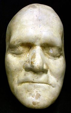 Death mask Benjamin Franklin