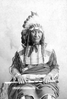 Rocky Bear - Oglala - 1886