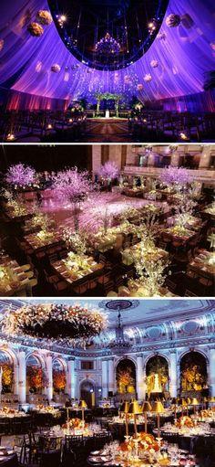 Luxury wedding reception decor.  #jevel #jevelweddingplanning Follow Us: www.jevelweddingplanning.com www.facebook.com/jevelweddingplanning/ www.twitter.com/jevelwedding/ www.pinterest.com/jevelwedding/