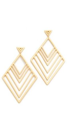 Shop for these Gorjana Liv Tiered Drop Earrings from Shopbop on Keep!