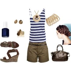 My summer style! Minus the bag.