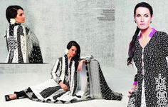 Nadia Hussain Lawn Collection 2012