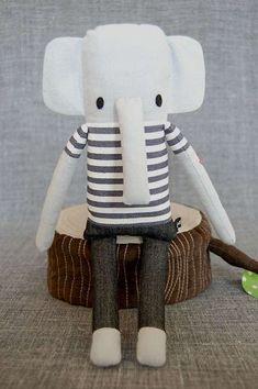 Animaletti fai da te di stoffa - Elefante di stoffa