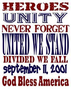 Sept. 11 Printable