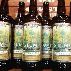 Phillips Brewing Co.'s Stump Botanic Ale <3 #stump #phillipsbrew #botanicale #ale #beer #beerporn #craftbeer
