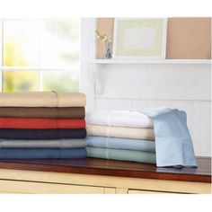 Better Homes and Gardens 100% Cotton 300 Thread Count Wrinkle Free Sheet Set