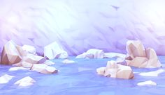 """Low-poly art by Timothy J. Reynolds (via """"A Comprehensive History of Low-Poly Art"""")"""