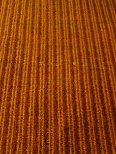 Rust and Marigold Mohair Ribbed Carpet