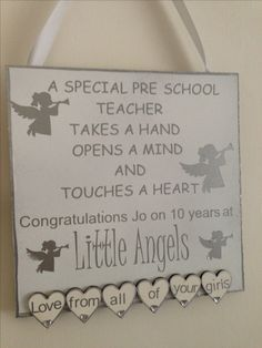 School Teacher, Pre School, Congratulations, Mindfulness, Frame, Frames, Hoop