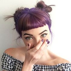 I've been thinking about getting bangs. They're super cute.