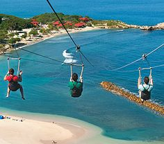 Who wants to Zip-line into the ocean on their next @royal Caribbean International cruise?