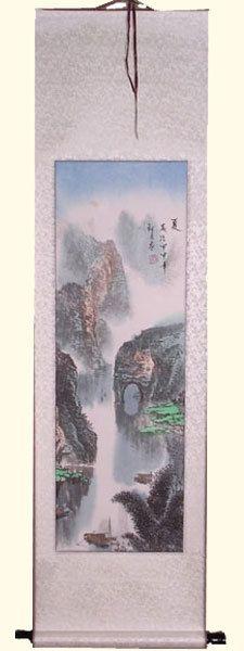 Oriental Furnishings - Asian Silk Scroll: Mountain Grotto, $63.00 (https://www.orientalfurnishings.com/asian-silk-scroll-mountain-grotto/)